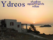 Idreos studios and apartments in Naxos, Mikri Vigla